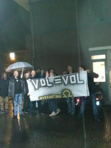 Protest in Katwijk bij de beslissing over een permanent AZC.