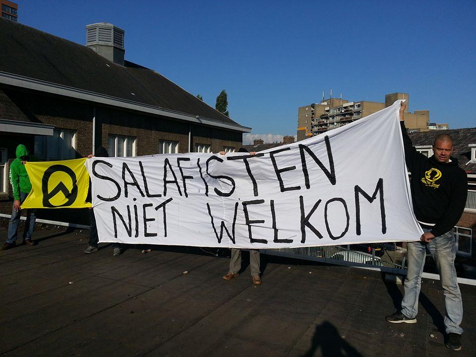 Actie tegen Salafisme in Rotterdam