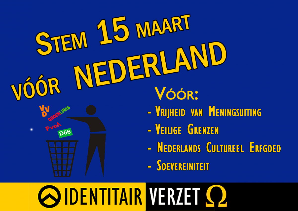 Stem 15 maart vóór Nederland!